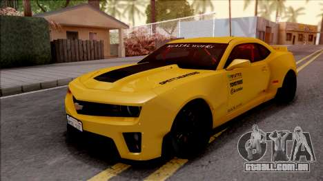 Chevrolet Camaro ZL1 Ngasal Works Kit para GTA San Andreas