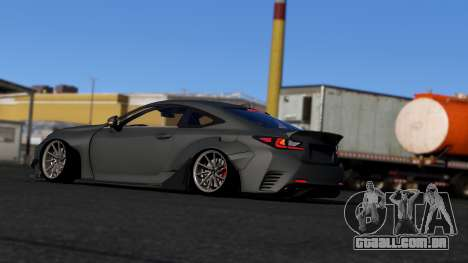 GTA 5 Lexus RC350 Rocket Bunny vista lateral esquerda