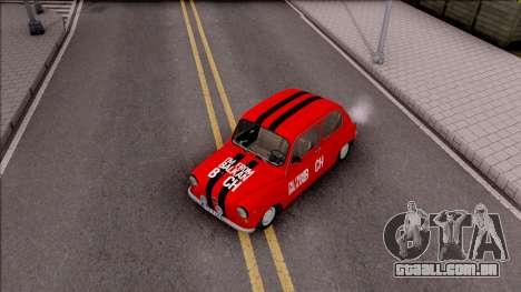 Zastava 750c para GTA San Andreas vista direita