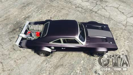 GTA 5 Dodge Charger Fast & Furious 8 [replace] voltar vista