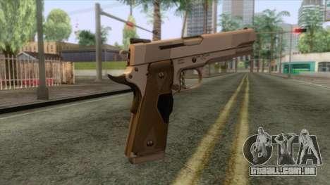 Smith & Wesson 45 ACP Revolver para GTA San Andreas terceira tela