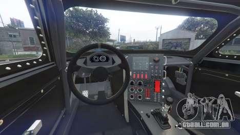 GTA 5 Dodge Charger Fast & Furious 8 [replace] traseira direita vista lateral
