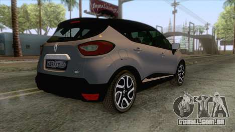Renault Captur para GTA San Andreas esquerda vista
