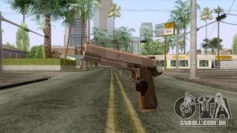 Smith & Wesson 45 ACP Revolver para GTA San Andreas segunda tela