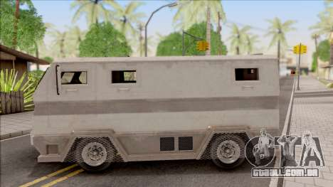 GTA EFLC HVY Brickade para GTA San Andreas esquerda vista