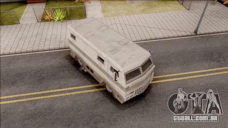 GTA EFLC HVY Brickade para GTA San Andreas vista direita