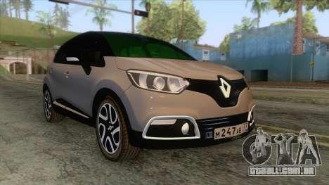 Renault Captur para GTA San Andreas