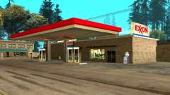 Exxon Gas Station para GTA San Andreas