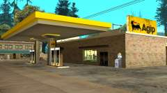 Agip Gas Station para GTA San Andreas