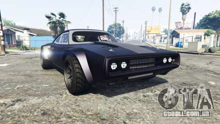 Dodge Charger Fast & Furious 8 [replace] para GTA 5