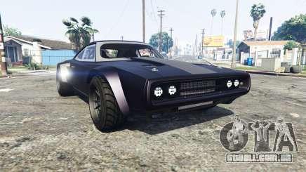 Dodge Charger Fast & Furious 8 [replace] para GTA 5