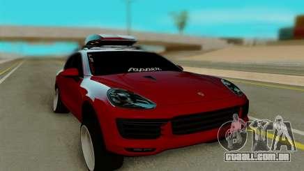Porsche Cayenne Turbo S 2015 para GTA San Andreas