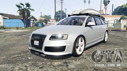 Audi RS6 Avant (C6) [add-on] para GTA 5
