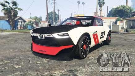 Nissan IDx Nismo concept [add-on] para GTA 5