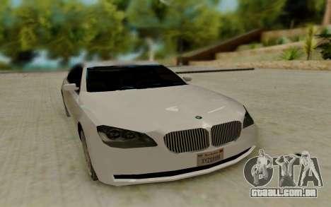 BMW 7 Series 750Li xDrive para GTA San Andreas