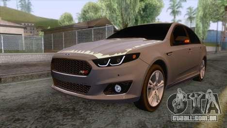 Ford Falcon 2018 KSA Dirft Edition para GTA San Andreas
