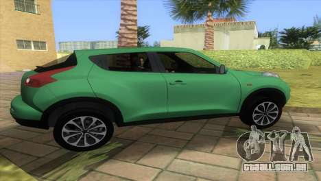 Nissan Juke para GTA Vice City deixou vista