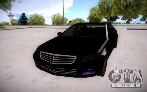 Mercedes-Benz C Class para GTA San Andreas