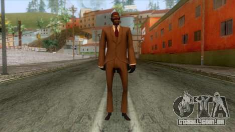 Team Fortress 2 - Spy Skin v2 para GTA San Andreas