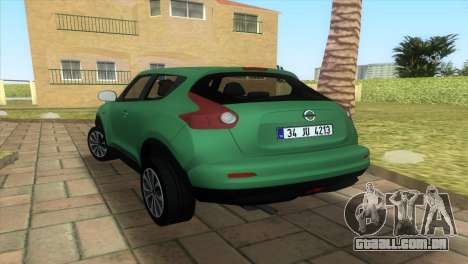 Nissan Juke para GTA Vice City vista direita