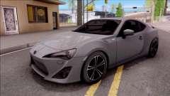 Toyota GT86 HQ para GTA San Andreas