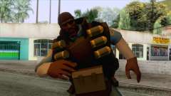 Team Fortress 2 - Demo Skin v1 para GTA San Andreas
