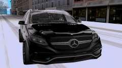 Mercedes-Benz GLE63 AMG Wagon para GTA San Andreas
