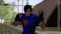 Leon Superman Cloth Skin para GTA San Andreas