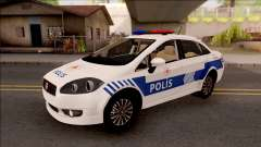 Fiat Linea Turkish Police para GTA San Andreas