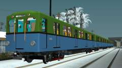 Metrovagony tipo D para GTA San Andreas