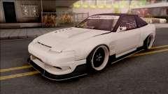 Nissan 180SX Origin Labo. USA GT Racing Line para GTA San Andreas