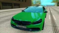 A Mercedes-Benz E63 AMG лайм para GTA San Andreas