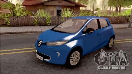 Renault Zoe 2013 para GTA San Andreas
