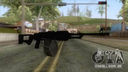 GTA 5 - MG Assault Rifle para GTA San Andreas