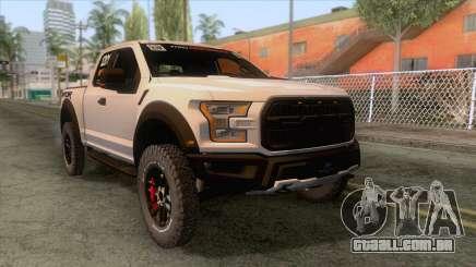 Ford Raptor 2017 Race Truck para GTA San Andreas