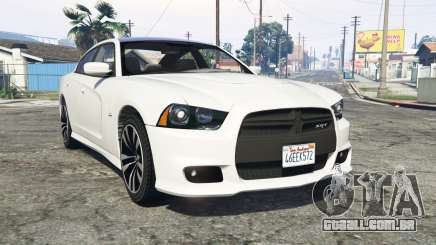 Dodge Charger SRT8 (LD) 2012 [replace] para GTA 5