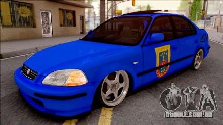 Honda Civic Ies Gendarmerie para GTA San Andreas