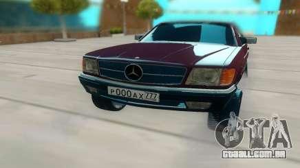 Mercedes-Benz C126 para GTA San Andreas