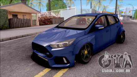 Ford Focus RS 2017 Fifteen52 Bodykits para GTA San Andreas