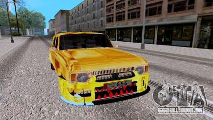 Moskvich 412 Brilhando Predador para GTA San Andreas