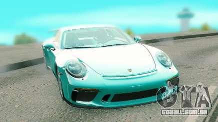 Porsche 911 GT3 azure para GTA San Andreas