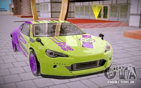 Subaru BRZ para GTA San Andreas