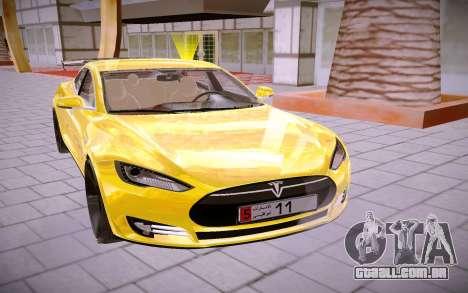 Tesla Model S para GTA San Andreas