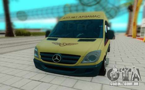 Mercedes-Benz Sprinter para GTA San Andreas