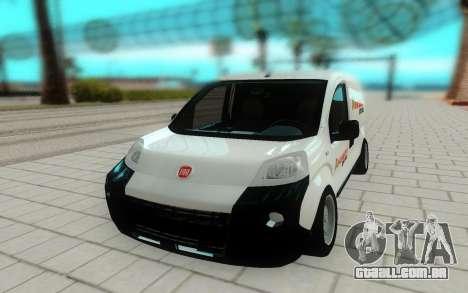 Fiat Fiorino para GTA San Andreas vista direita