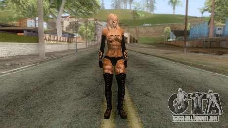 Mo Sexy Beach Girl Skin 4 para GTA San Andreas
