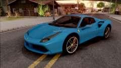 Ferrari 488 Spider 2016 para GTA San Andreas