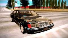 Mercedes-Benz E500 W124 1992 para GTA San Andreas