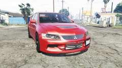 Mitsubishi Lancer Evolution IX [replace] para GTA 5