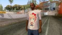 Doki Doki Sayori T-Shirt para GTA San Andreas